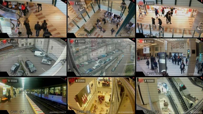 کنترل اماکن توسط دوربینهای امنیتی